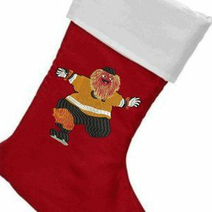 PERSONALIZED GRITTY CHRISTMAS STOCKING FREE NAME